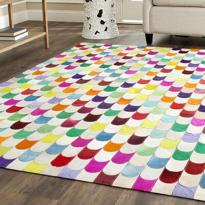 Amaryllis Leather Rug Rug Size: Rectangle 8 x 10