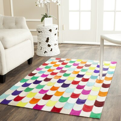 Amaryllis Leather Rug Rug Size: 4 x 6