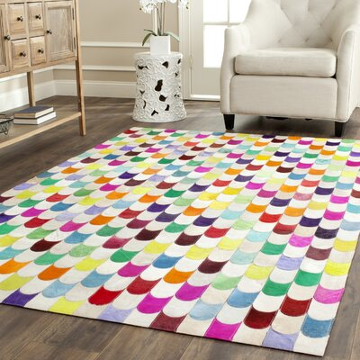 Amaryllis Leather Rug Rug Size: 5 x 8