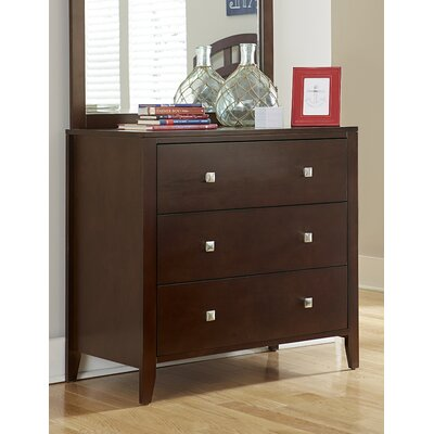 Susan 3 Drawer Chest Finish: Cherry
