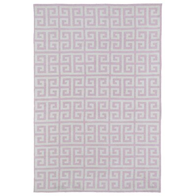 Aaron Pink Area Rug Rug Size: Rectangle 5 x 7