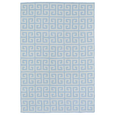 Aaron Blue Area Rug Rug Size: Rectangle 5 x 7