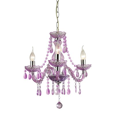 Luke 3-Light Candle-Style Chandelier