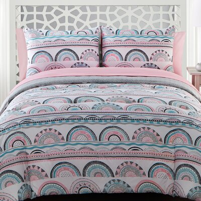 Alex Reversible Comforter Set Size: Full
