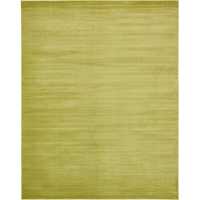 Levi Light Green Area Rug Rug Size: 5 x 8