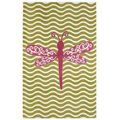 Brynn Dreamy Dragonfly Area Rug