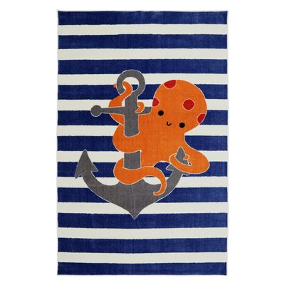 Brynn Little Octopus Area Rug
