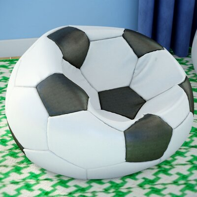 Kierra Soccer Bean Bag Chair