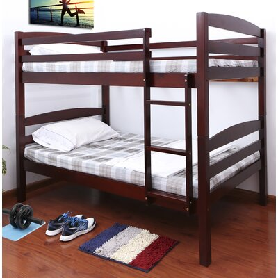 Connor Twin over Twin Bunk Bed Color: Cherry