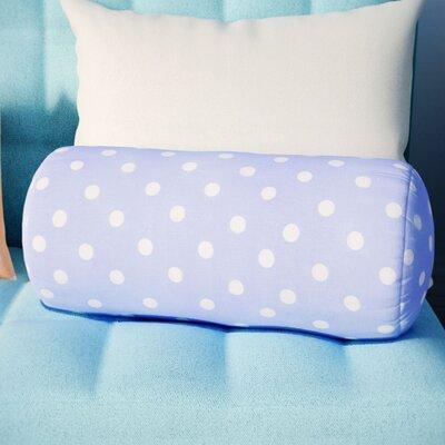 Roper Round Cotton Bolster Pillow Color: Lavender