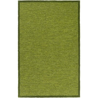 Alfreda Dark Green Area Rug Rug size: Rectangle 8 x 10