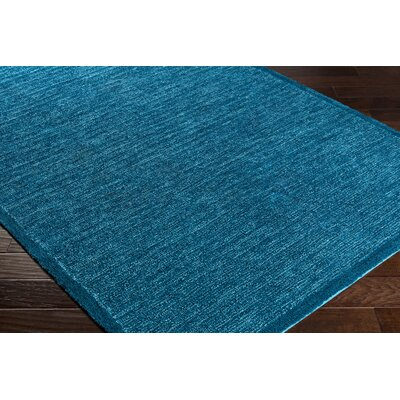 Alfreda Sky Blue/Aqua Area Rug Rug size: Rectangle 4 x 6