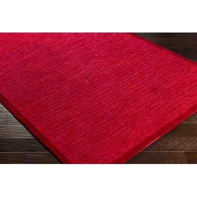Alfreda Garnet Area Rug Rug size: Rectangle 8 x 10