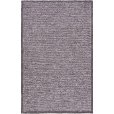 Alfreda Charcoal/White Area Rug Rug size: Rectangle 8 x 10