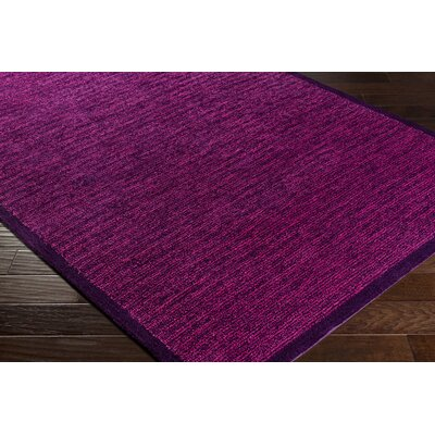 Alfreda Violet Area Rug Rug size: Rectangle 8 x 10