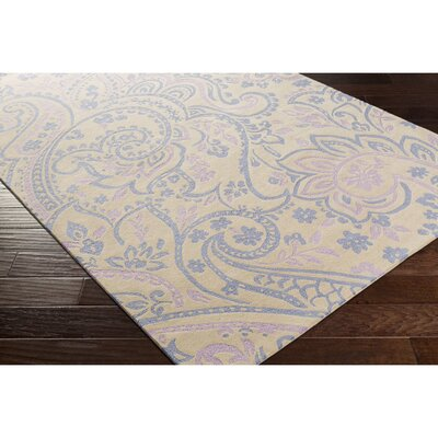 Cleo Hand-Tufted Blue/Purple Area Rug