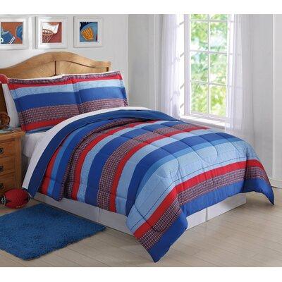 Bonnie Stripe Comforter Set Size: Twin