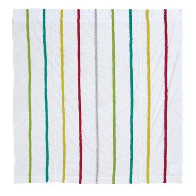 Alvin 100% Cotton Shower Curtain