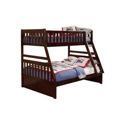 Adela Leonard Bunk Bed Size: Full/Full