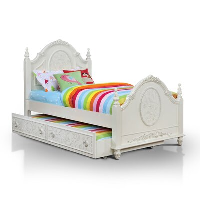Dawn Panel Bed with Trundle