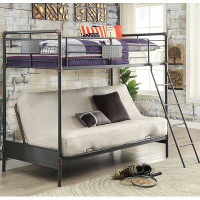 Chapin Twin Bunk Bed with Futon