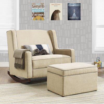 Jacob Storage Ottoman Upholstery: Beige