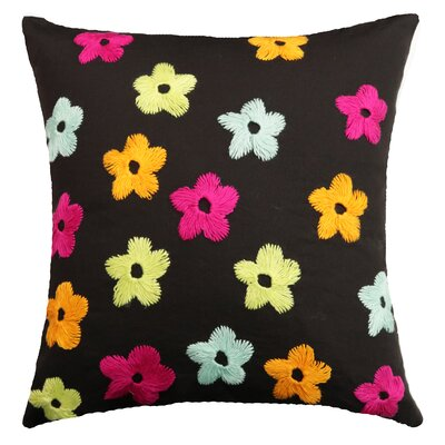 Lakeisha Spring Flowers Handcrafted Throw Pillow