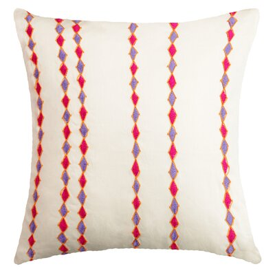 Nicholls Handcrafted Cotton Throw Pillow