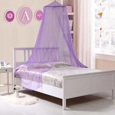 Colgate Kids Collapsible Wire Hoop Canopy Color: Purple