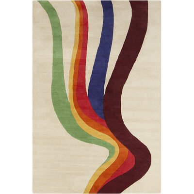 Roberto Hand Tufted Rectangle Wool Area Rug