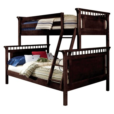 Bonneau Traditional Twin/Full Bunk Bed Finish: Espresso