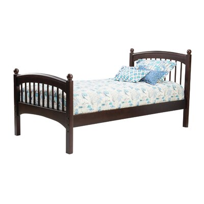 Bonneau Traditional Slat Bed Size: Twin