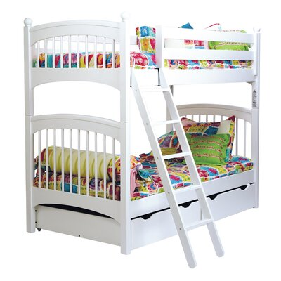 Bonneau Twin over Twin Bunk Bed with Two Underbed Storage Drawers