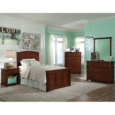 David Twin Storage Panel Customizable Bedroom Set