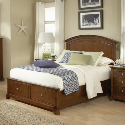 Dustin Panel Bed with Storage