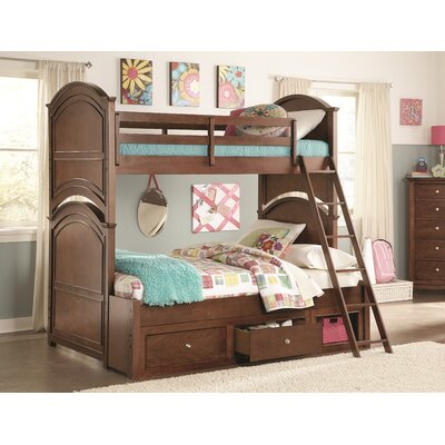 Dustin Bunk Bed Size: Twin over Twin