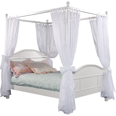 Lilia Four Poster Bed Size: Full