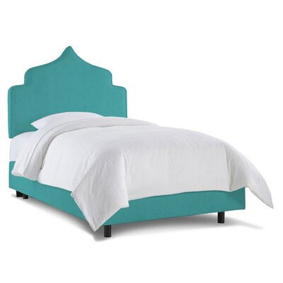 Graciela Upholstered Panel Bed Fabric: Zuma Peacock, Size: Full