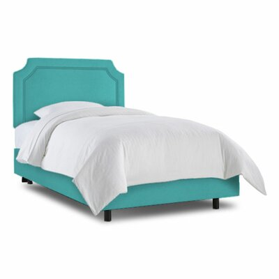 Grant Bed Size: Full, Color: Zuma Peacock
