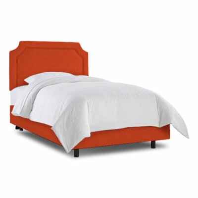 Grant Bed Fabric: Zuma Atomic, Size: Twin