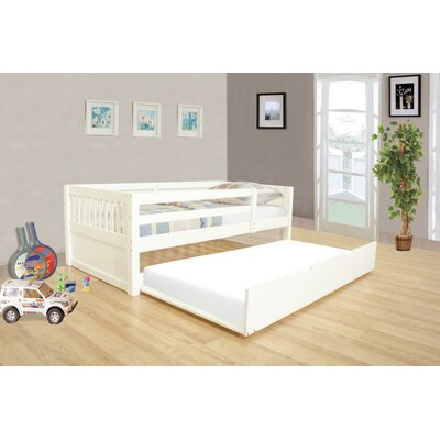 Grayson Daybed with Trundle Color: White