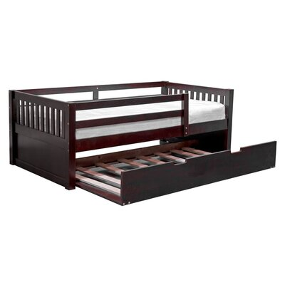 Grayson Daybed with Trundle Color: Cappuccino