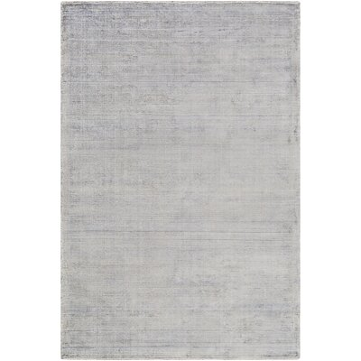 Cora Hand-Loomed Medium Gray/Khaki Area Rug Rug size: Rectangle 6 x 9