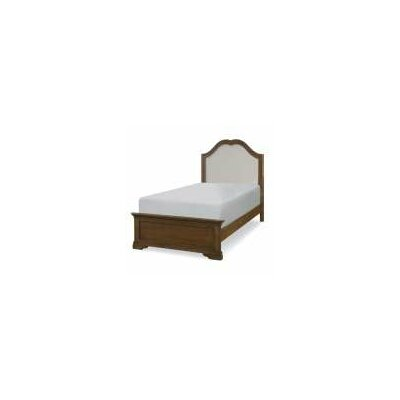 Luz Traditional Panel Wood Bed Size: Twin