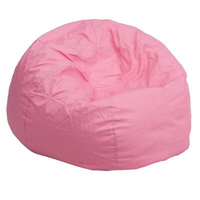 Small Beads Bean Bag Chair Upholstery: Light Pink
