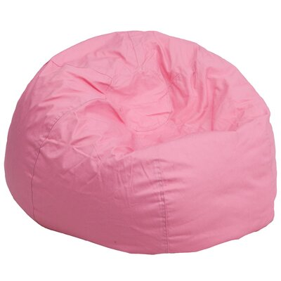 Large Beads Bean Bag Chair Upholstery: Light Pink
