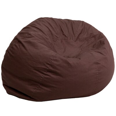 Large Beads Bean Bag Chair Upholstery: Brown