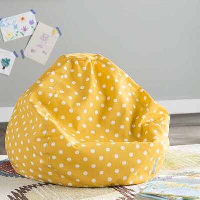 Telly Bean Bag Chair Upholstery: Citrus