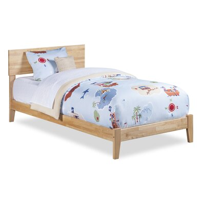 Greyson Platform Bed Size: Twin, Finish: Natural Light Wood