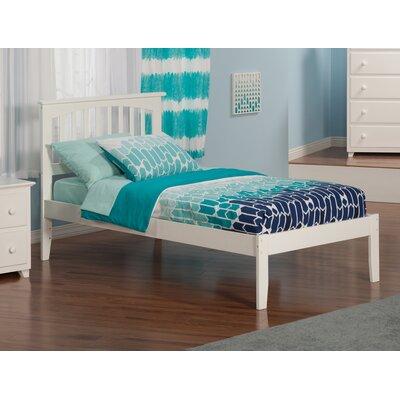 Georgia Slat Bed Finish: White